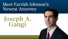 joseph gangi Farrish Johnson Law Office: <br/><em>Southern Minnesota's Premier Legal Resource</em>
