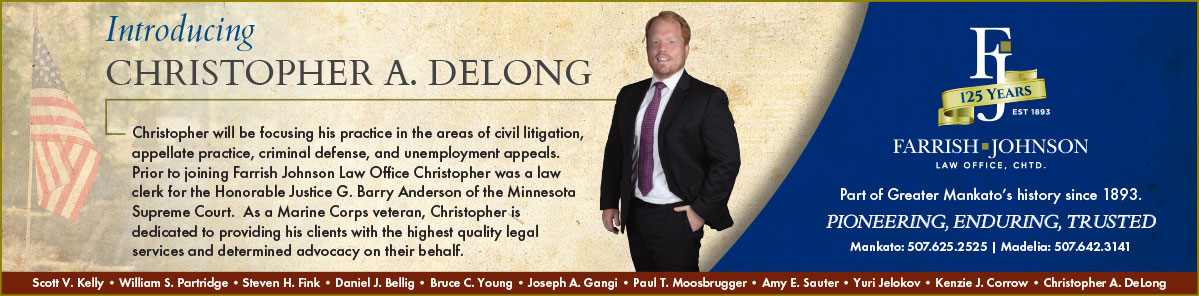 Introducing Christopher A. Delong