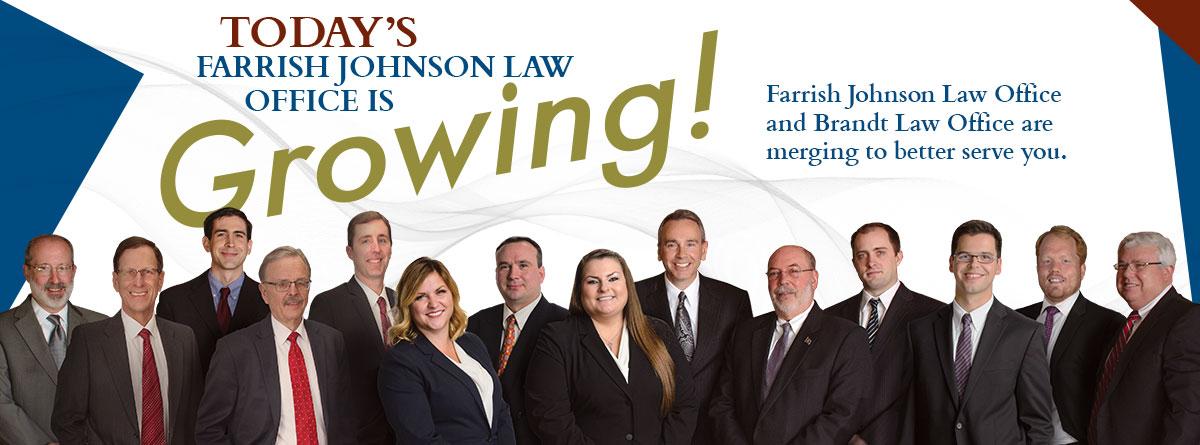 Farrish Johnson Law Office is Growing!