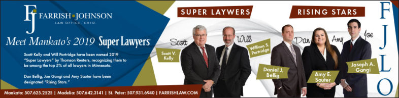 Mankato Super Lawyers 2019